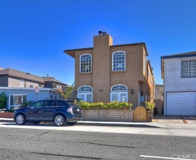 Newport Beach Rental For Rent: 1229 W Balboa Boulevard