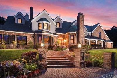 Single Family Home For Sale: 30882 Via Colinas