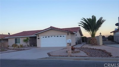Desert Hot Springs Single Family Home For Sale: 8471 Warwick Drive