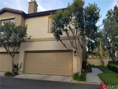 Irvine Condo/Townhouse For Sale: 611 Newcastle