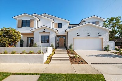 Newport Beach Single Family Home For Sale: 921 Cliff Drive
