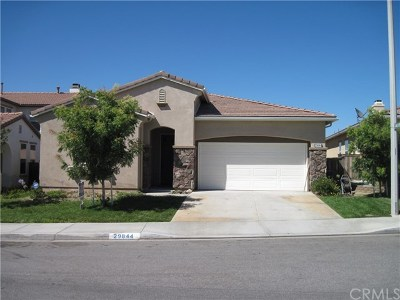 Murrieta Single Family Home For Sale: 29844 Masters Drive