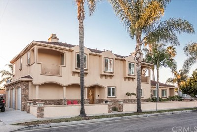 Huntington Beach Single Family Home For Sale: 1221 Pine Street