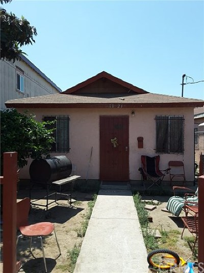 Los Angeles Single Family Home For Sale: 10323 Hickory Street