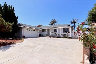 Huntington Beach Single Family Home For Sale: 19071 Hamden Lane