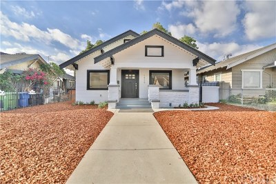 Los Angeles Single Family Home For Sale: 1429 W 45th Street