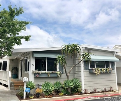 Newport Beach Mobile Home For Sale: 96 Yorktown