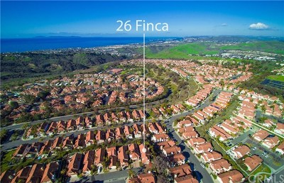 San Clemente Single Family Home For Sale: 26 Finca