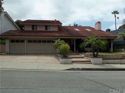 San Juan Capistrano Single Family Home Active Under Contract: 33501 Calle Miramar