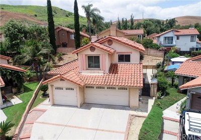 Chino Hills Single Family Home For Sale: 17674 Colonial Court
