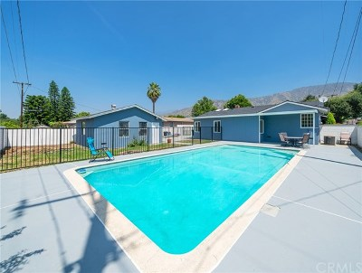 Glendora Single Family Home For Sale: 602 W Bennett Avenue