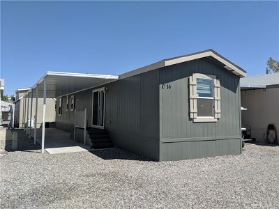 Mobile Home For Sale: 3401 Parker Dam Road