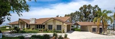 Walnut Single Family Home For Sale: 2345 Oakleaf Canyon Rd