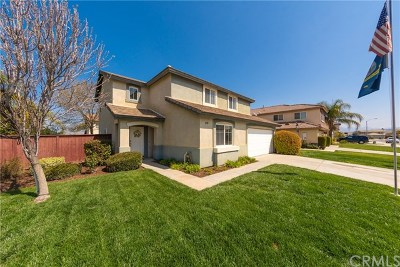 Hemet Single Family Home For Sale: 4910 Thistle Creek Way