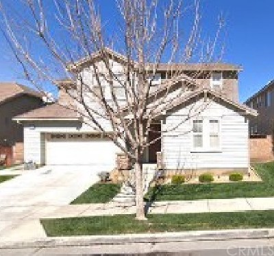 Corona Single Family Home For Sale: 25146 Cliffrose Street