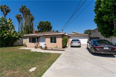 Huntington Beach Single Family Home For Sale: 17112 Bolsa Chica Street