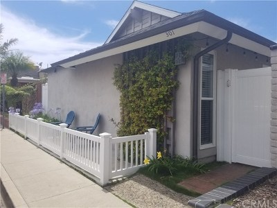 Newport Beach Rental For Rent: 301 Walnut Street