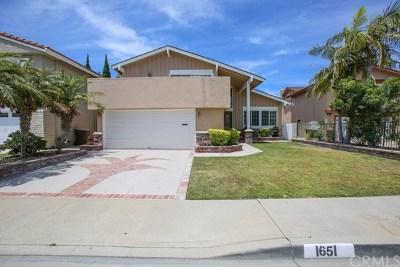 Anaheim Single Family Home For Sale: 1651 S Tiara Way