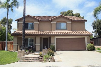 Rancho Santa Margarita Single Family Home For Sale: 20 Via Arribo