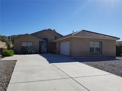 Yucca Valley Single Family Home For Sale: 57239 Selecta Avenue