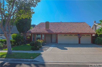 Irvine Single Family Home For Sale: 13701 Onkayha Circle