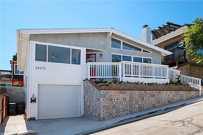Dana Point Single Family Home For Sale: 34071 El Contento Drive