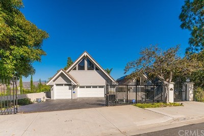 North Tustin, Santa Ana Single Family Home For Sale: 11242 Skyline Drive