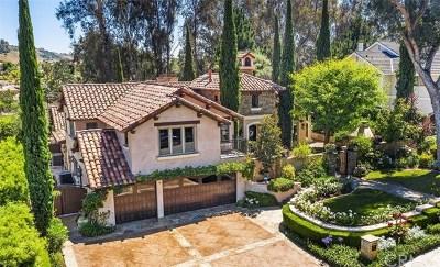 San Juan Capistrano Single Family Home For Sale: 30171 Hillside Terrace
