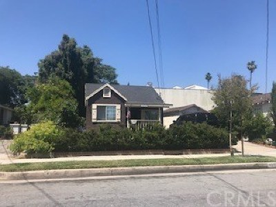Pasadena Single Family Home For Sale: 463 Macdonald Street