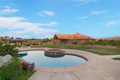 Temecula Single Family Home For Sale: 38555 Calle Jojoba