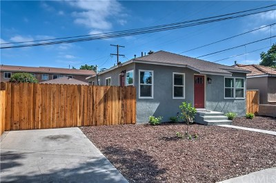 Santa Ana Single Family Home For Sale: 211 E Saint Gertrude Place