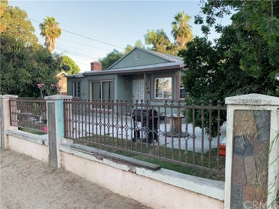 La Puente Single Family Home For Sale: 14106 Don Julian Road