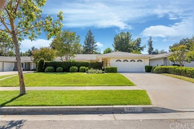 Fullerton Single Family Home Active Under Contract: 1331 Avolencia Drive