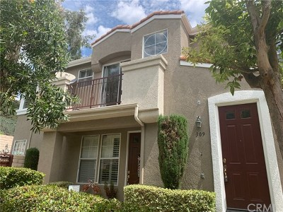 Placentia Condo/Townhouse Active Under Contract: 309 Draft Way