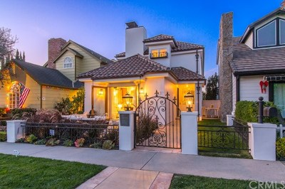 Corona del Mar Single Family Home For Sale: 605 Dahlia Avenue