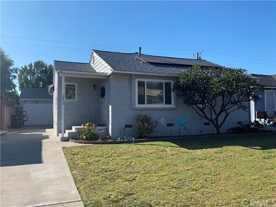 Downey Single Family Home Pending: 8917 Birchleaf Avenue