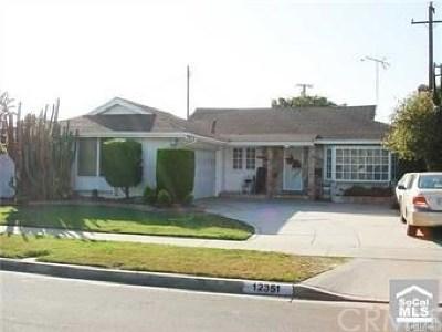 Garden Grove Single Family Home For Sale: 12351 Georgian Street