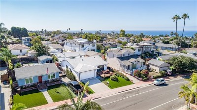 San Clemente Single Family Home For Sale: 129 W Paseo De Cristobal