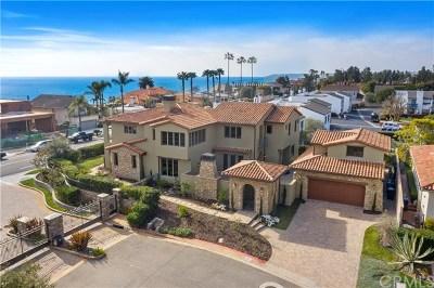 Dana Point Single Family Home For Sale: 2 Castillo Del Mar