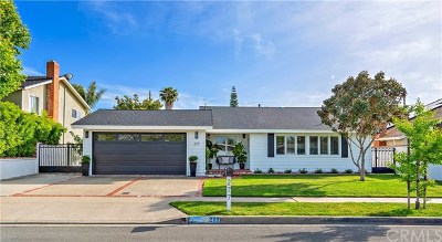 Costa Mesa Single Family Home For Sale: 277 Sierks Street