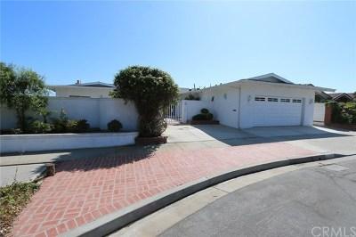 Corona del Mar Single Family Home For Sale: 4839 Cortland Drive