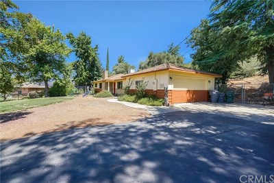 Oroville Single Family Home For Sale: 2569 Oro Quincy Highway