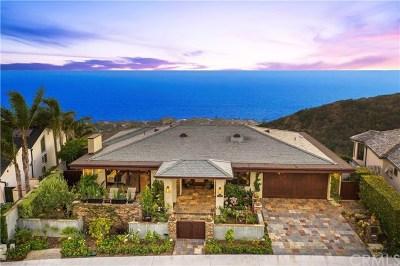 Dana Point Single Family Home For Sale: 32051 Sea Island Drive