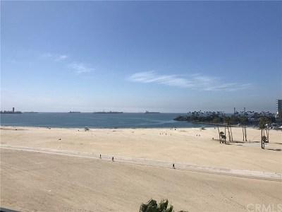 Long Beach Condo/Townhouse For Sale: 850 E Ocean Boulevard #405