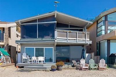Dana Point Single Family Home For Sale: 35261 Beach Road