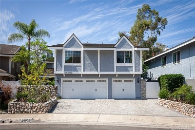 Single Family Home For Sale: 24902 Los Gatos Drive