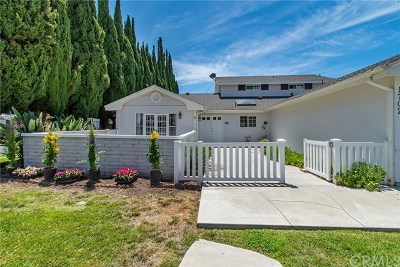 Tustin Single Family Home Active Under Contract: 1702 Garland Avenue