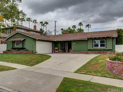 Yorba Linda Single Family Home For Sale: 4902 Briarhill