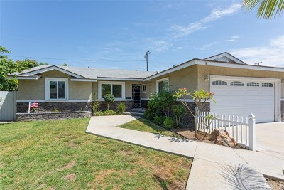 La Habra Single Family Home For Sale: 2081 San Jose Avenue