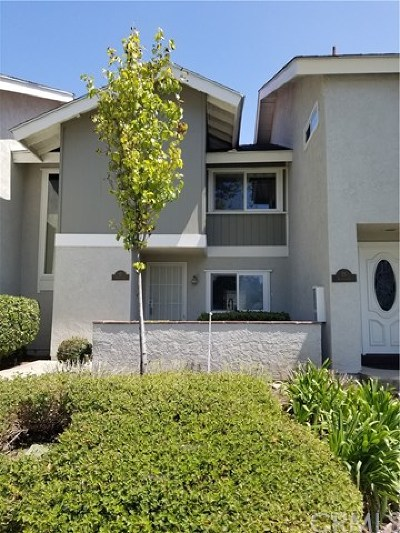 Irvine Condo/Townhouse For Sale: 17 Sunflower #20
